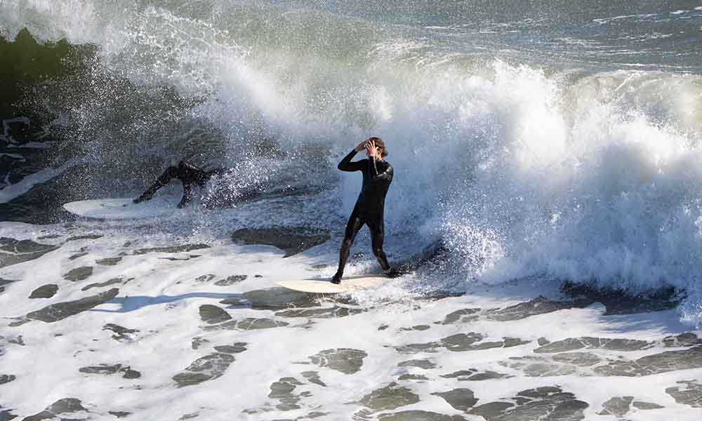 surfista botines de surf